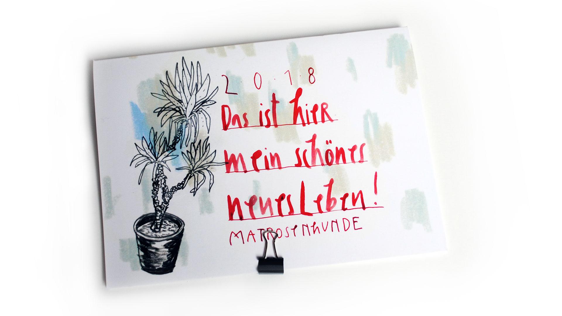 Der Matrosenhunde-Jahreskalender 2018