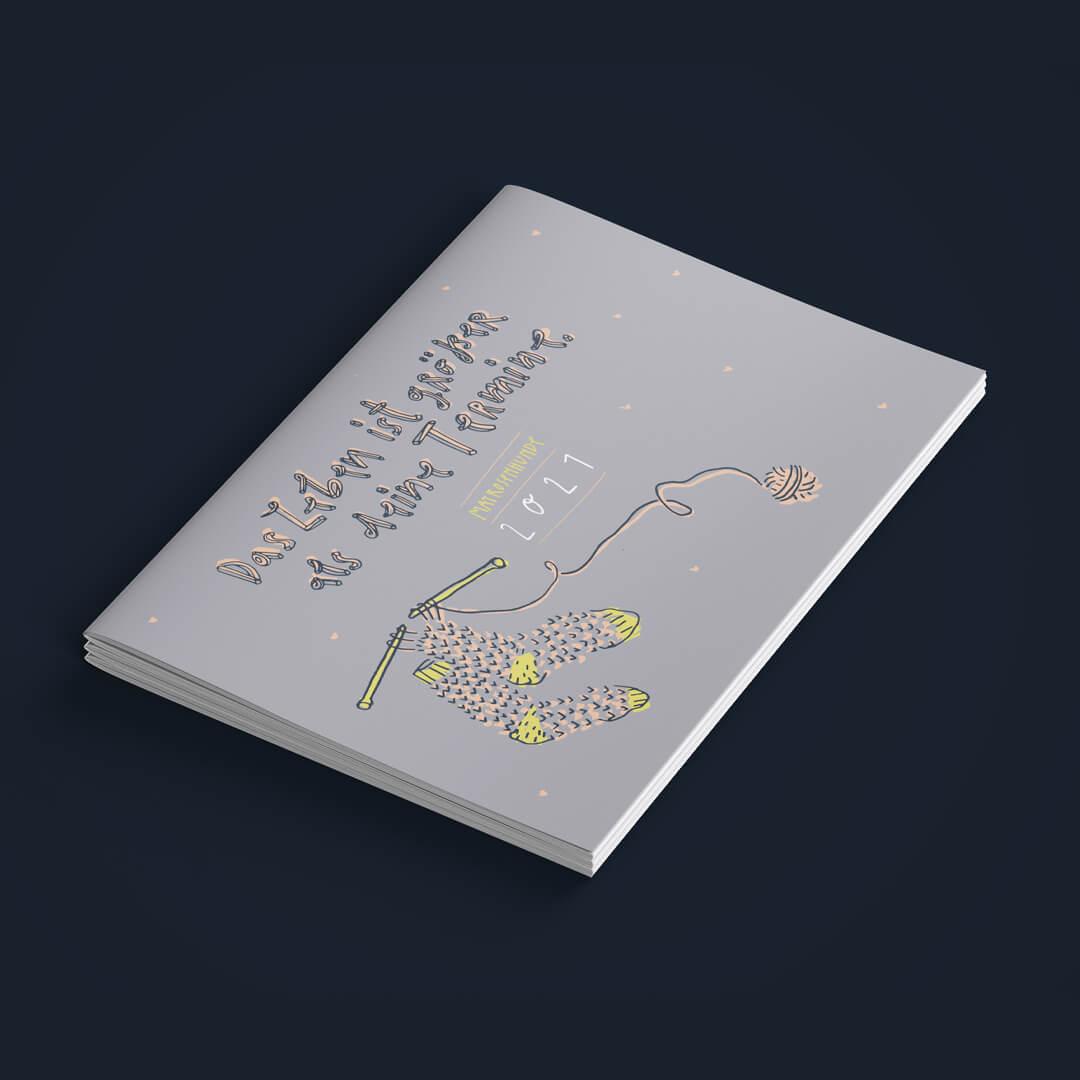 Matrosenhunde, Kalender, 2021, Das Leben ist größer als deine Termine